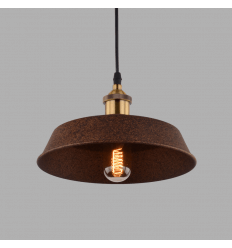 Brown cupola industrial pendant light - Galaxy