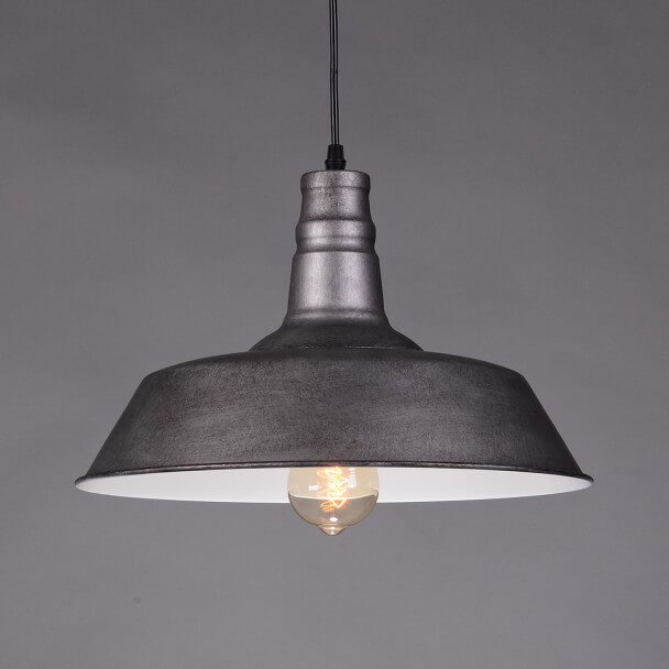 Pendant light design metallic gray - Xena