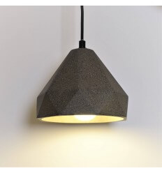 Geometric suspension concrete - Lyra