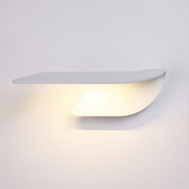 Designer LED wall lamp with indirect light - Akron