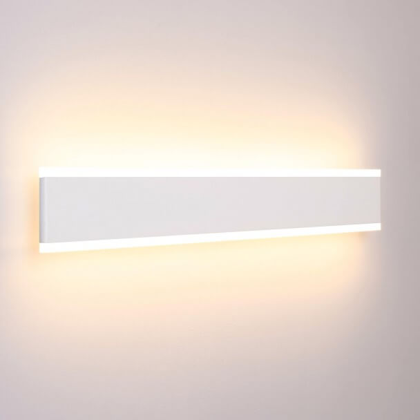 Large LED wall lamp length 50 cm - Bastia
