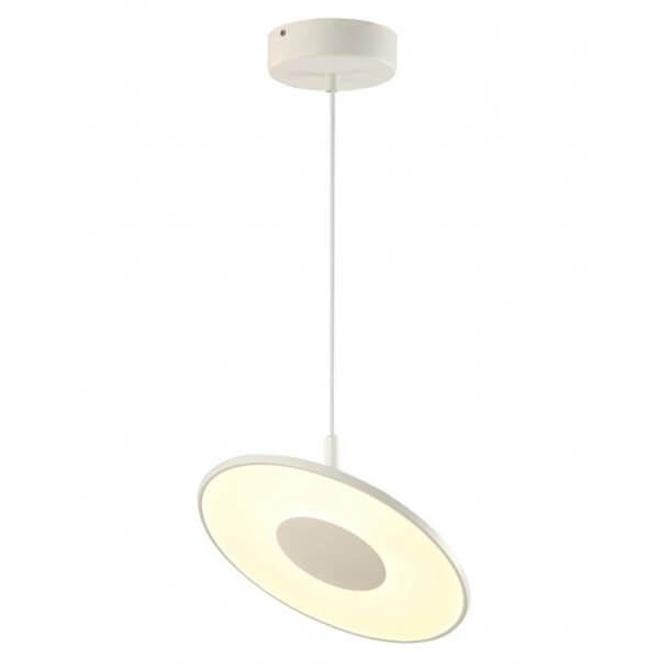 Futuristic ring LED pendant light - Aix