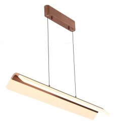 copper color LED pendant light - Argos