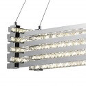 LED pendant lamp and crystal ring - Alicante