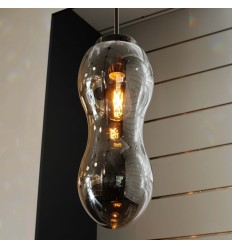 Decorative smoked Pendant Light - Almera