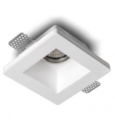 Built-in spotlight in plaster - Squared Orlando