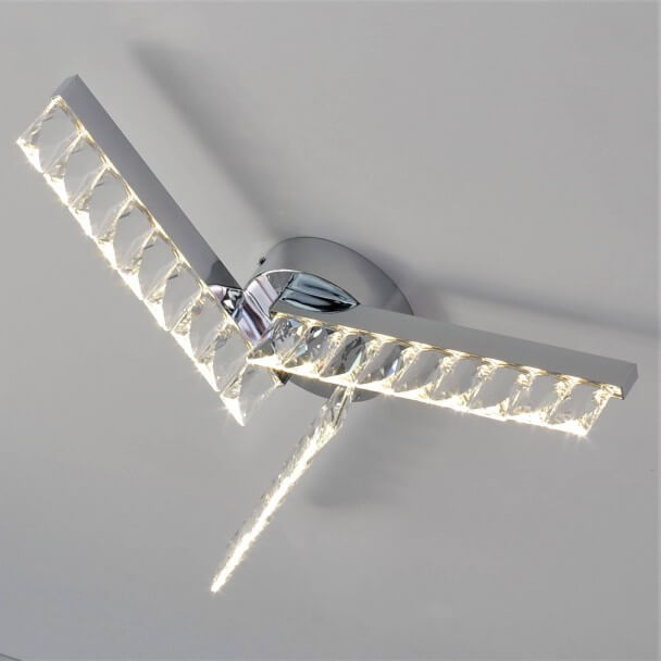 Luxuary Crystal Ceiling Light LED - Million