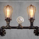 Machine style double wall light - Bronx