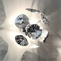 Silver bindweed wall light - Aion