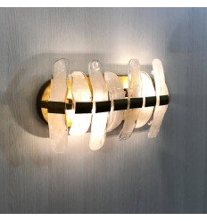 Modern wall light with large glass shards - Mexico