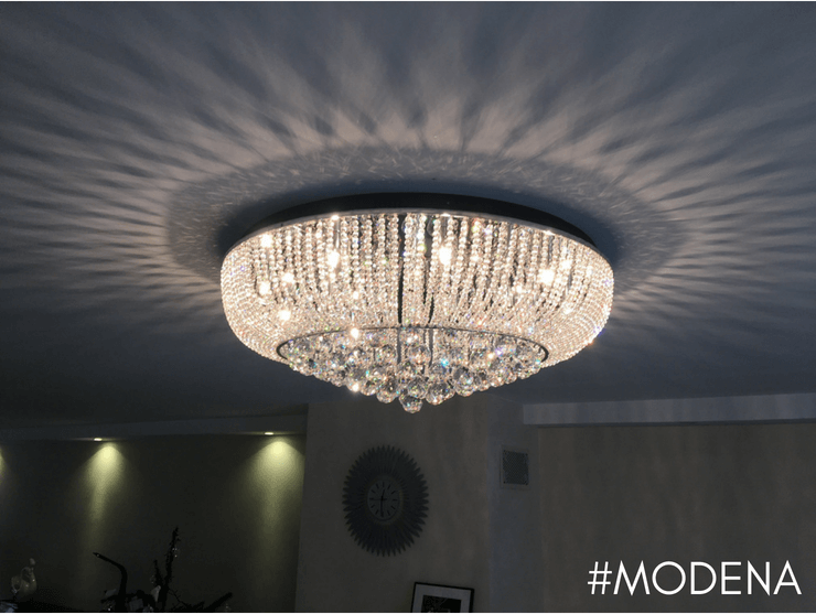 CEILING LIGHT - CRYSTAL MODENA